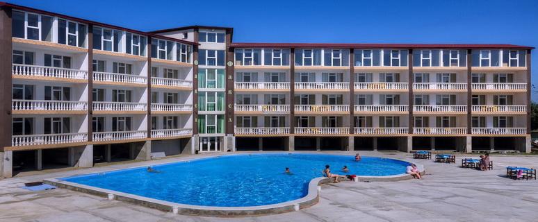 Отельный комплекс Факел, Затока, Украина